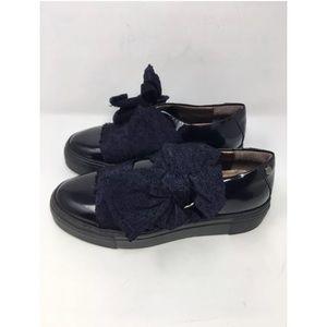 Attilio Guisti Leombruni Bow Platform Sneaker